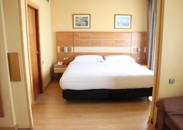 Junior suite hotel faranda florida norte madrid