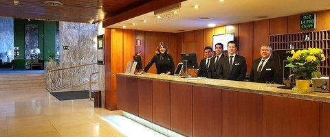 Recepción 24 horas Hotel City House Florida Norte Madrid