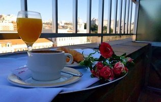Desayuno Hotel City House Florida Norte Madrid